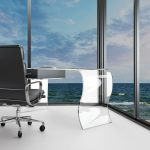 office with ocean view